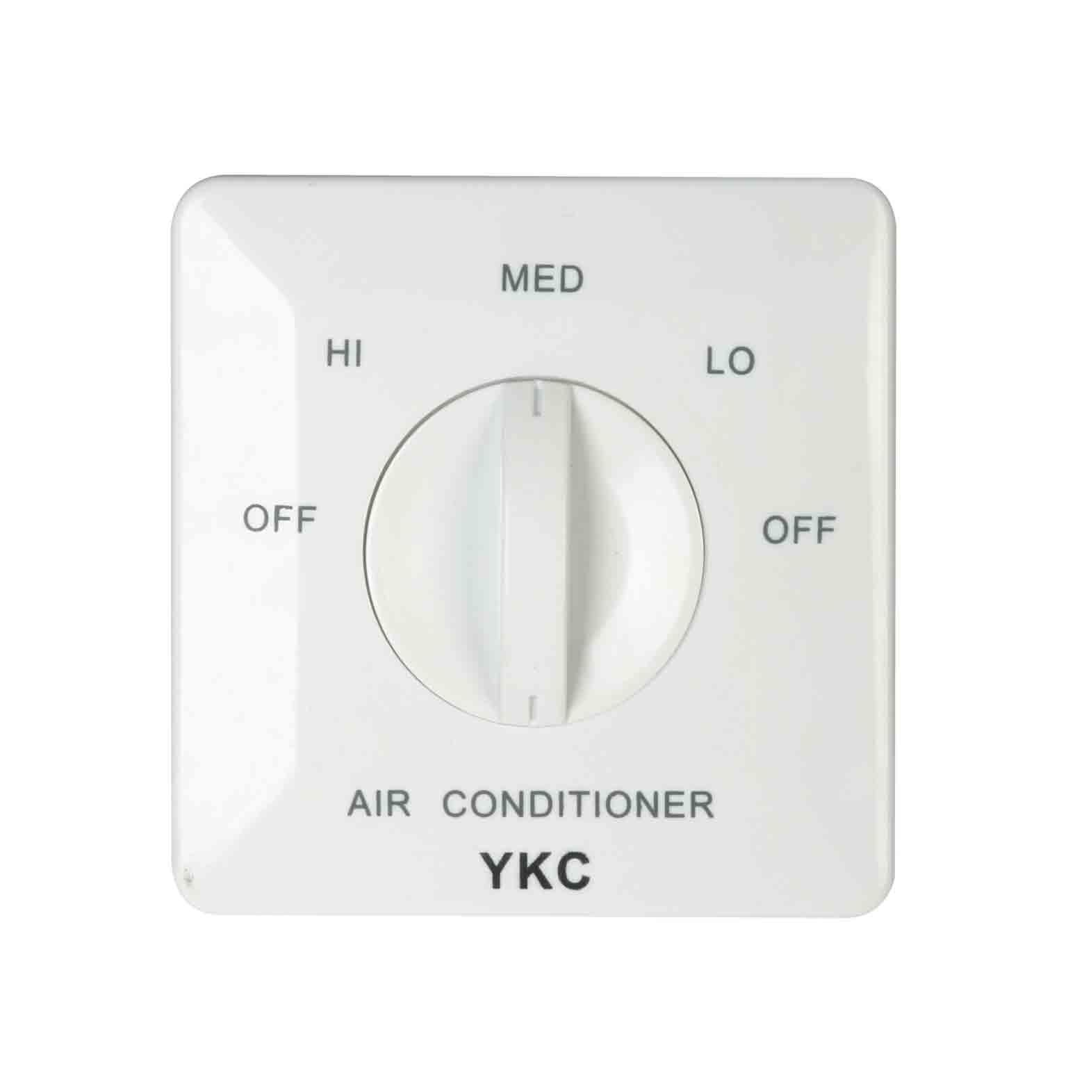 YKC201風機盤管三速開關