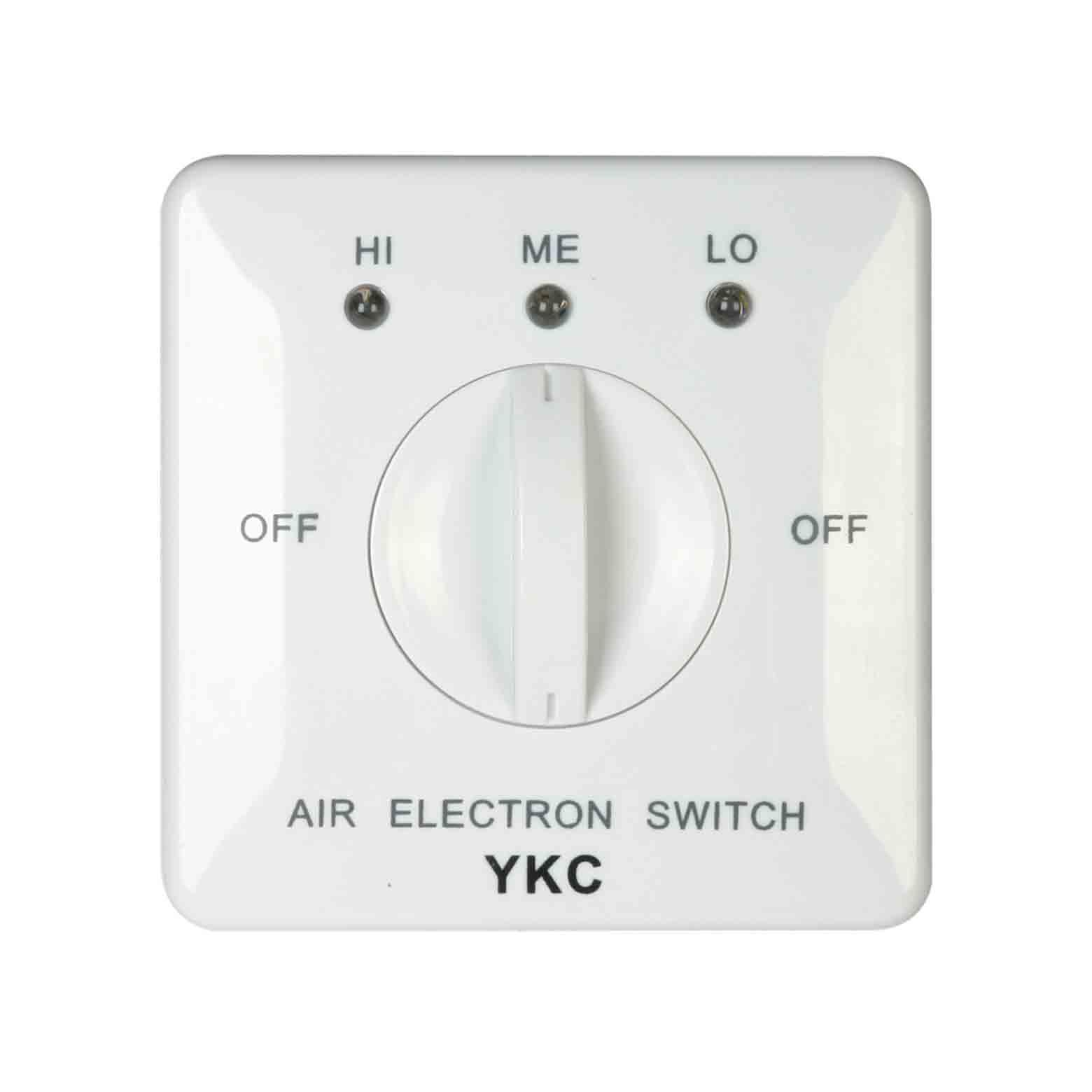 YKC202風機盤管三速開關