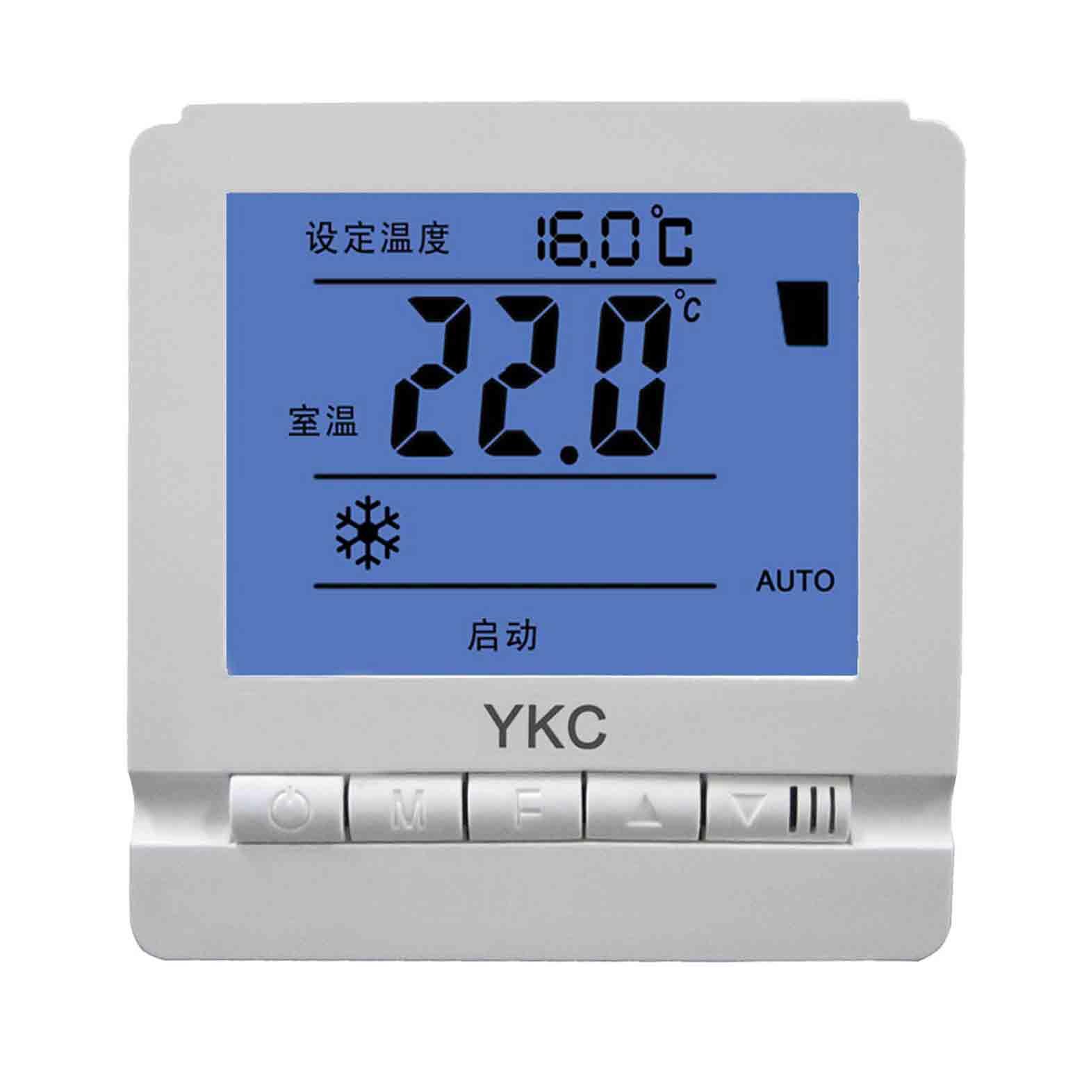 806液晶溫控器房間空調溫控器