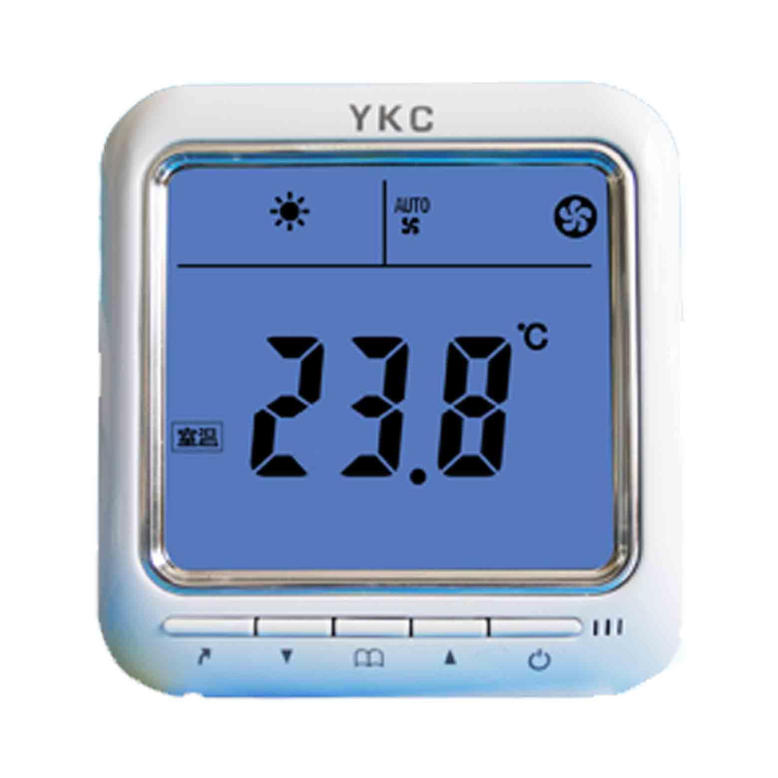 YKC8700超大液晶顯示溫控器(可選帶485網絡通訊功能)