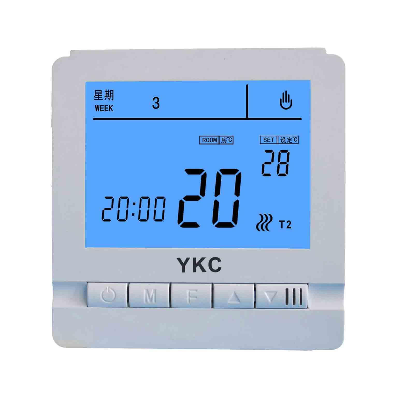 YKC809双显键盘锁定液晶温控器