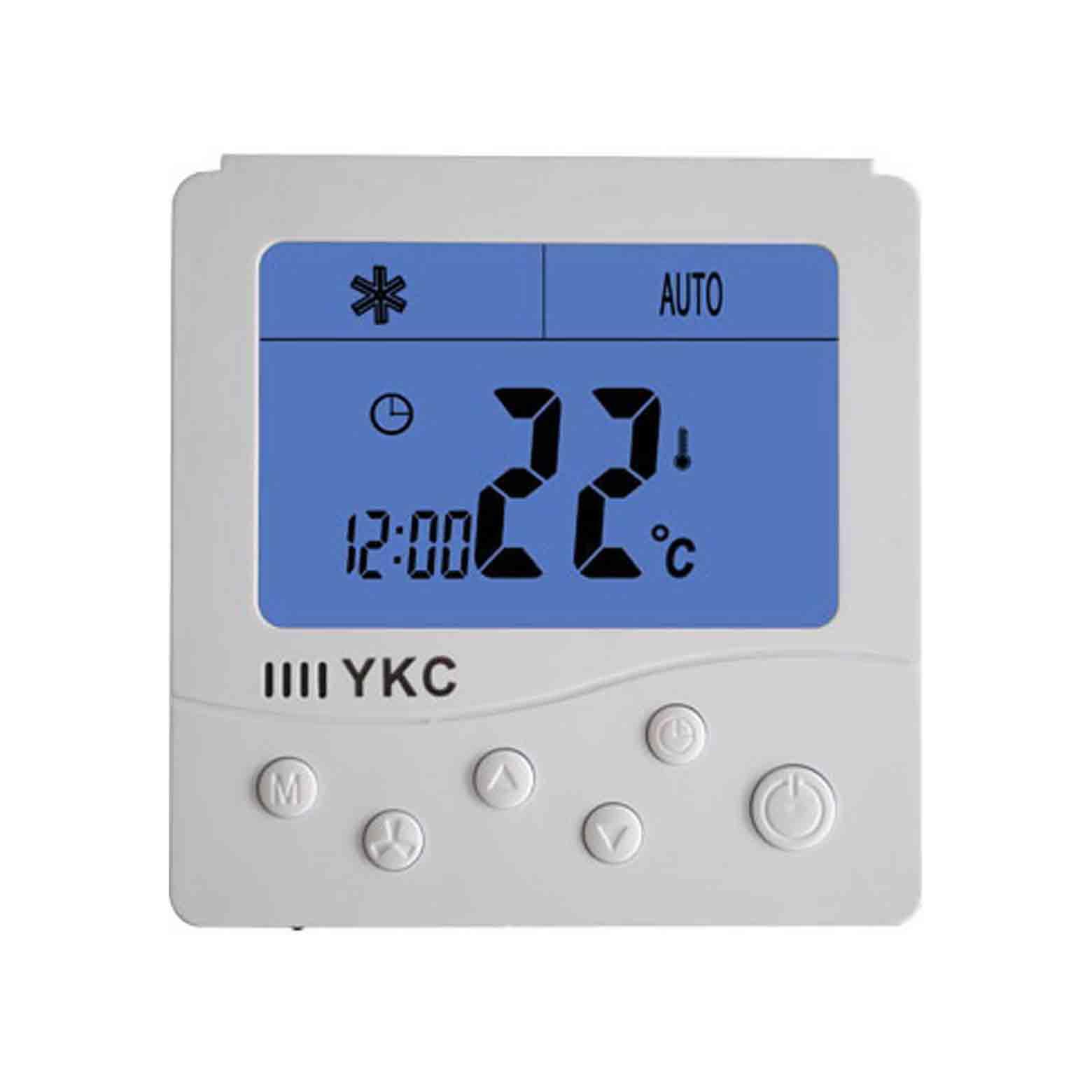 306節能減排環保溫控器可編程四管制溫控器