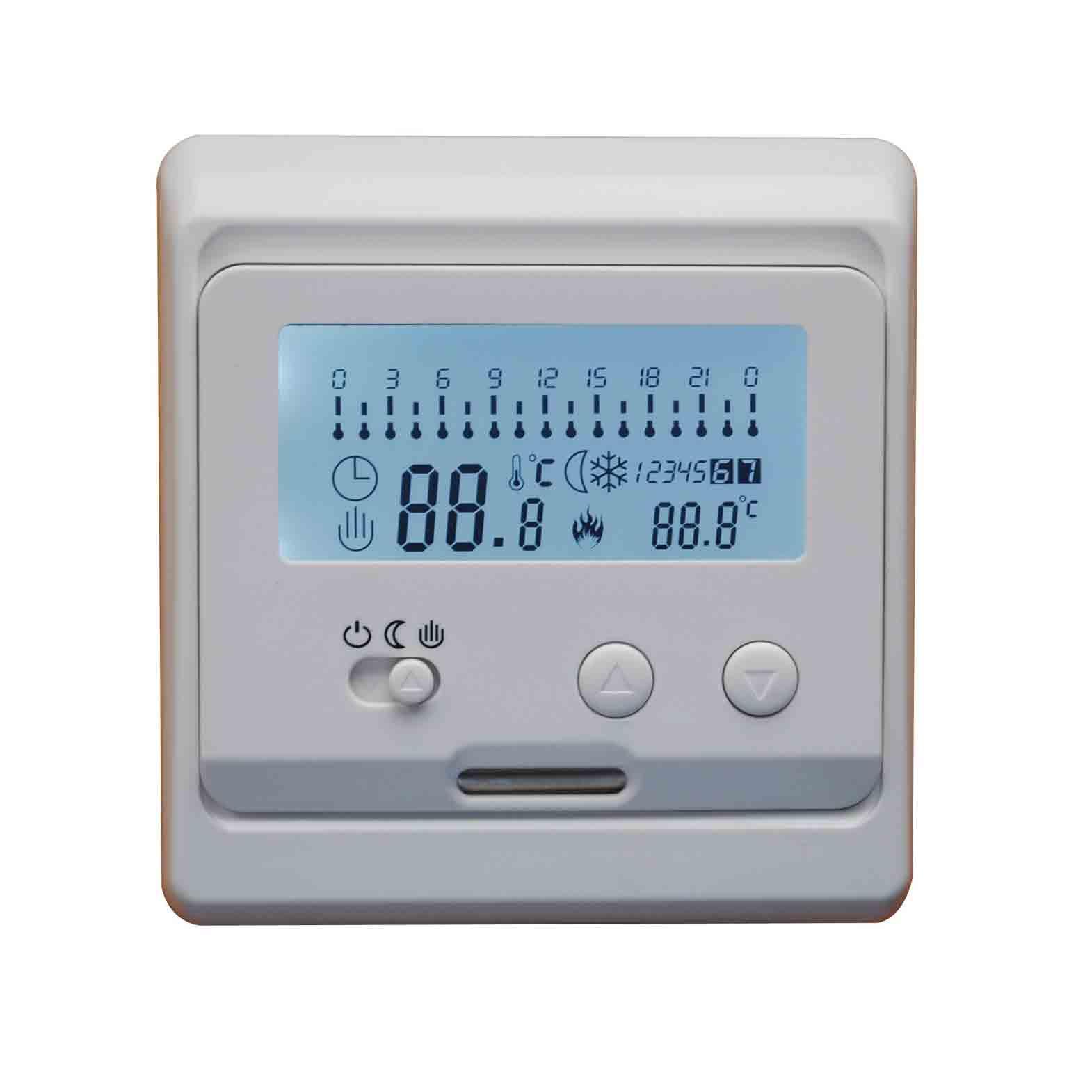 E31水采暖、電采暖單溫控無編程