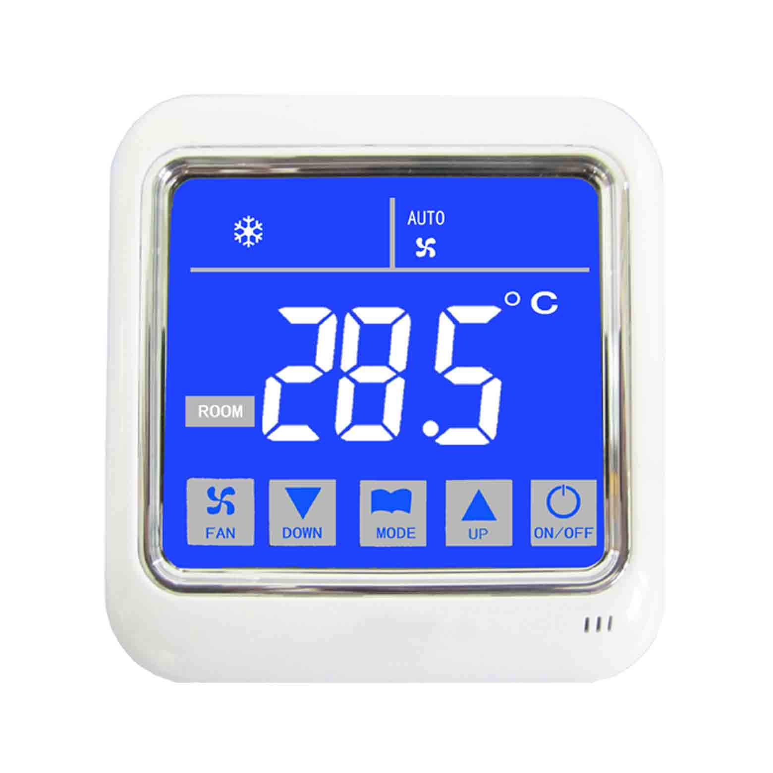 A8中央空調房間溫控器,可選帶RS485網絡通訊功能(A8L)