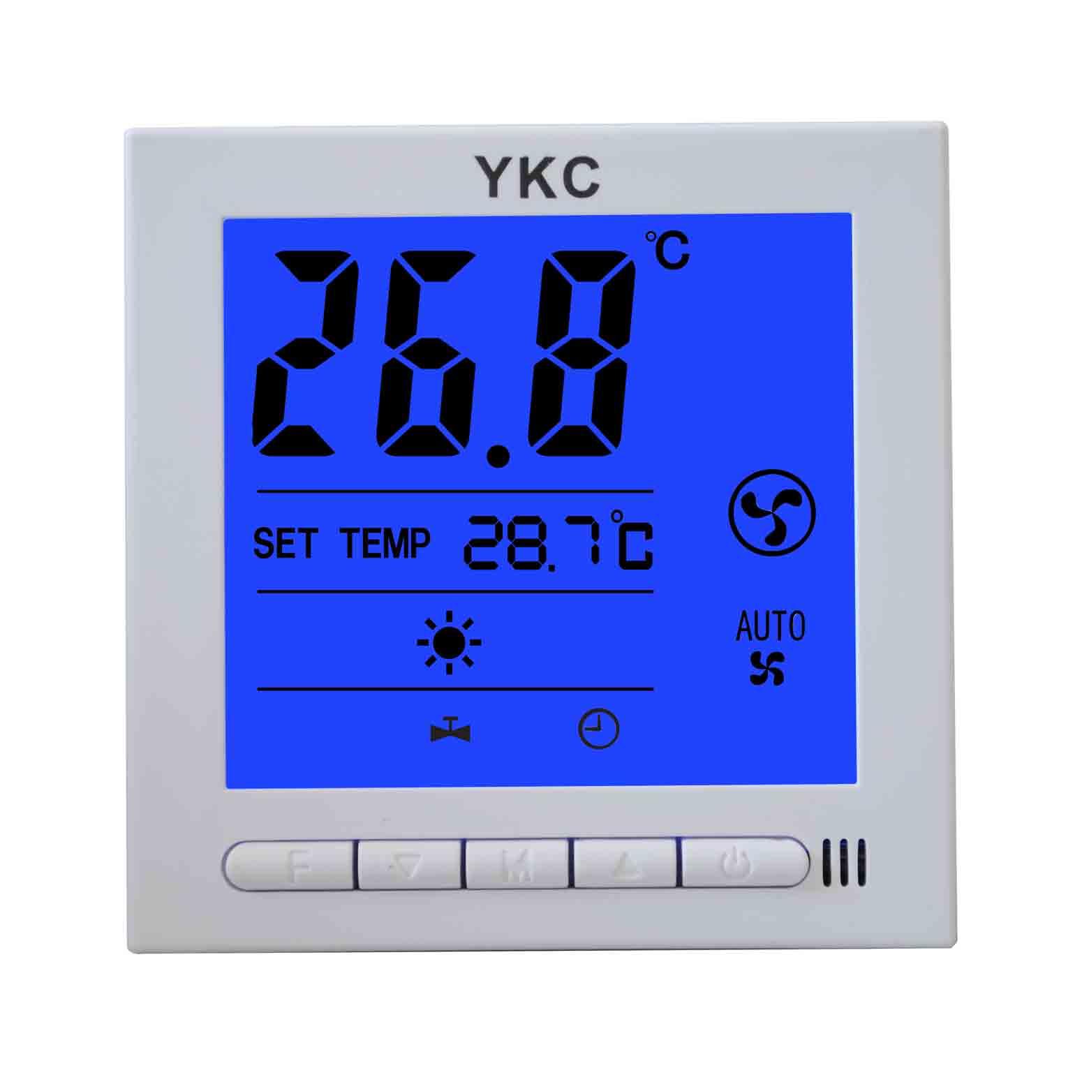 YKC3010風機盤管溫控器(可選帶RS485網絡通訊功能)