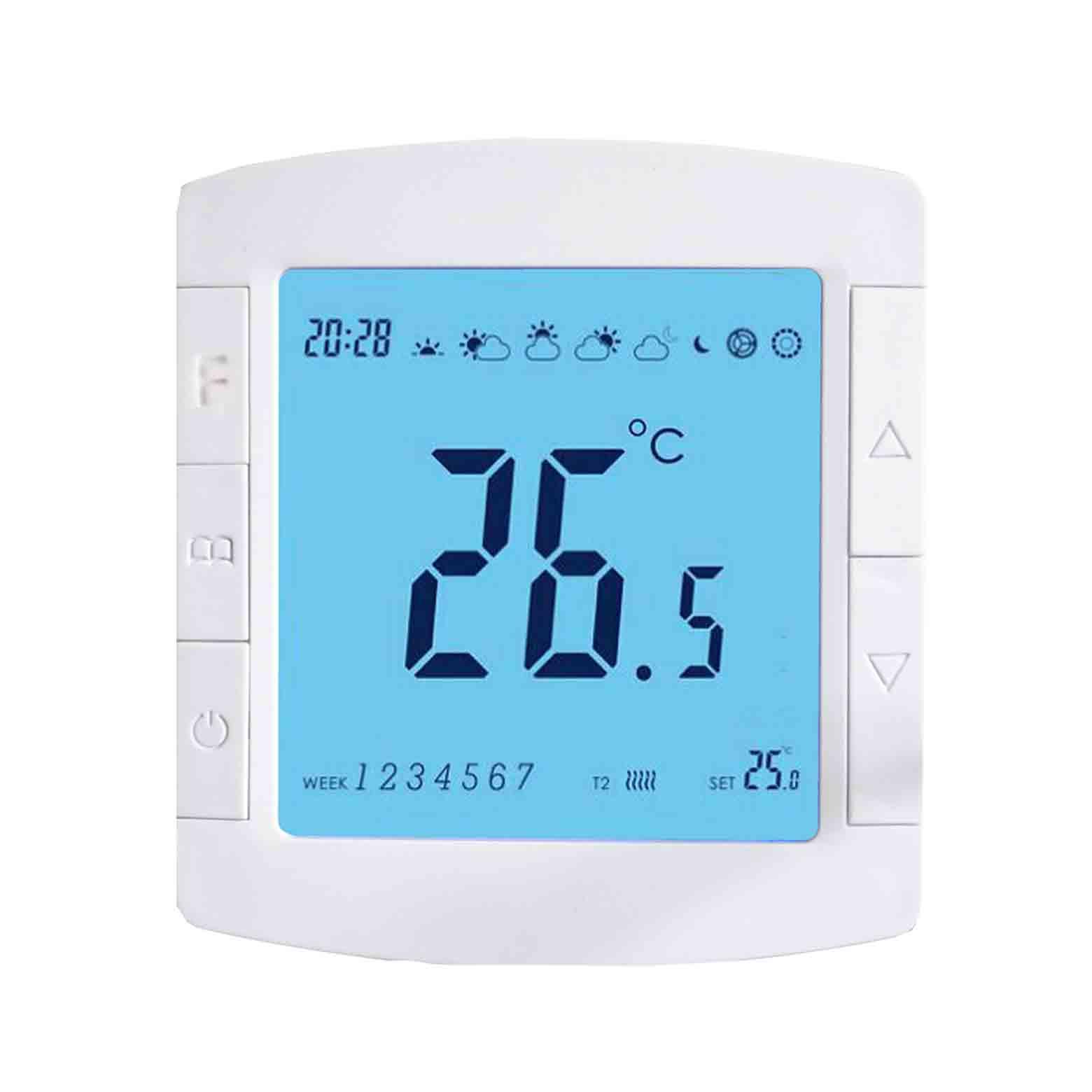 601全功能供暖液晶温控器