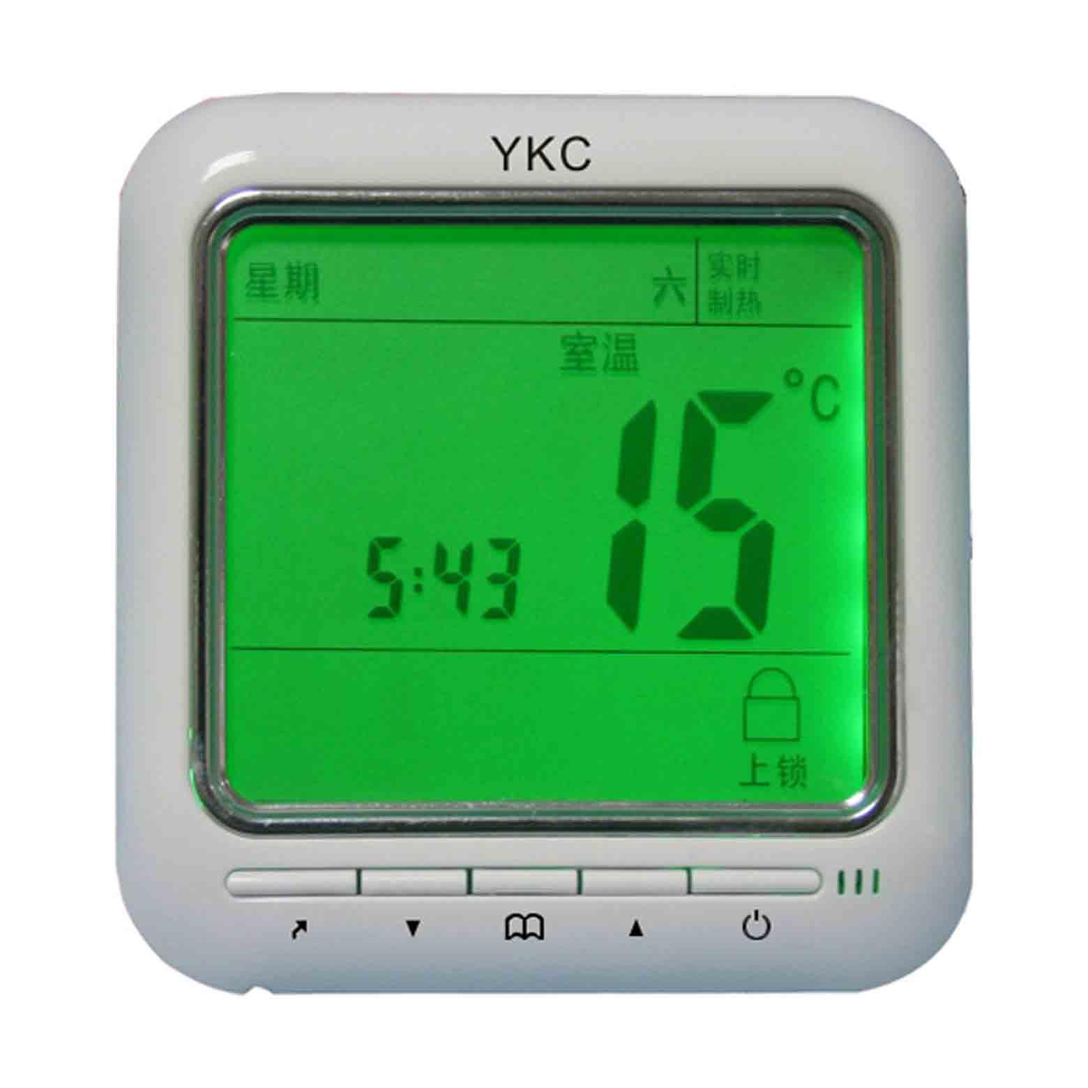 YKC8800/8900集分水器、水地暖可編程溫控器